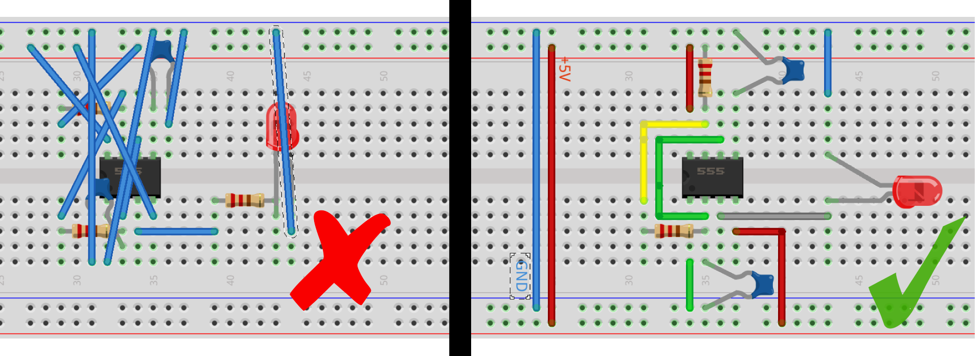 Craft Of Electronics Drawing Electronic Circuits Draw Your First Schematic